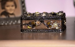 Silver trinket box - photo by Beth.R @ http://www.flickr.com/photos/thelittlegreenumbrella/