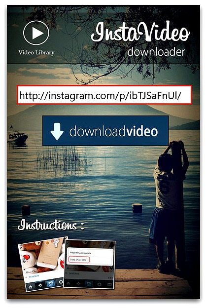 Download Instagram Videos on Windows Phone with InstaVideo Downloader App