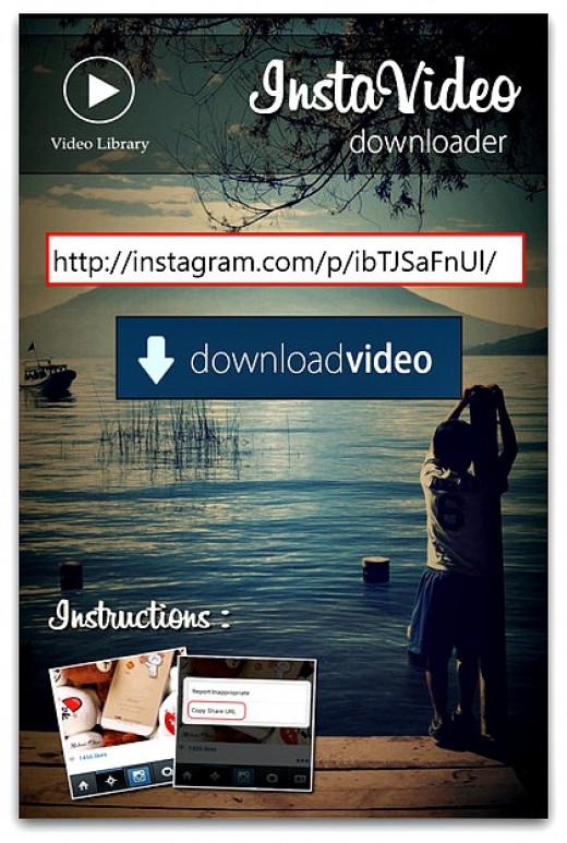 Download Instagram Videos on Windows Phone with InstaVideo Downloader App