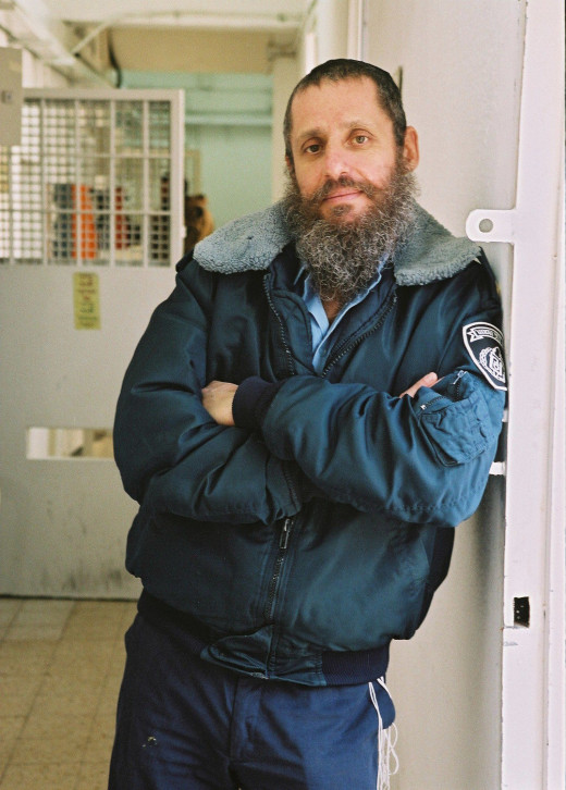 Rabbi Major (ret.) Fishel Jacobs, in uniform.