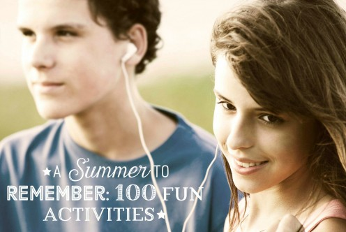 100 Things for Teens to Do This Summer
