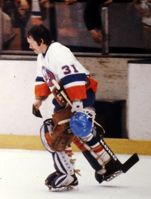 New York Islander goalie Billy Smith is one of the most revered figures from the Isles' early 80's dominance.