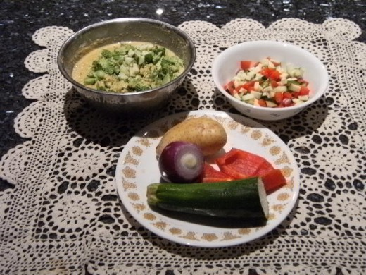 Gujarati Bhajia - Healthy Vegetarian food