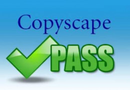 All articles must pass Copyscape in order to be submitted for payment.