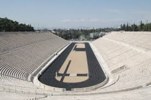 Olympic Stadium Athens - Built 1986