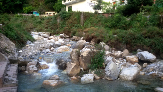 Garud Ganga river