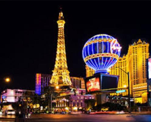 Paris Hotel & Casino, Las Vegas, Nevada.