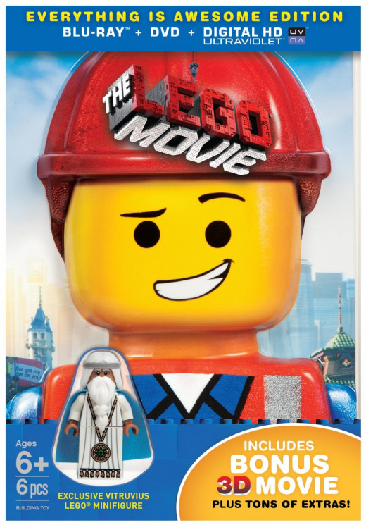 The Lego Movie with Minifigure