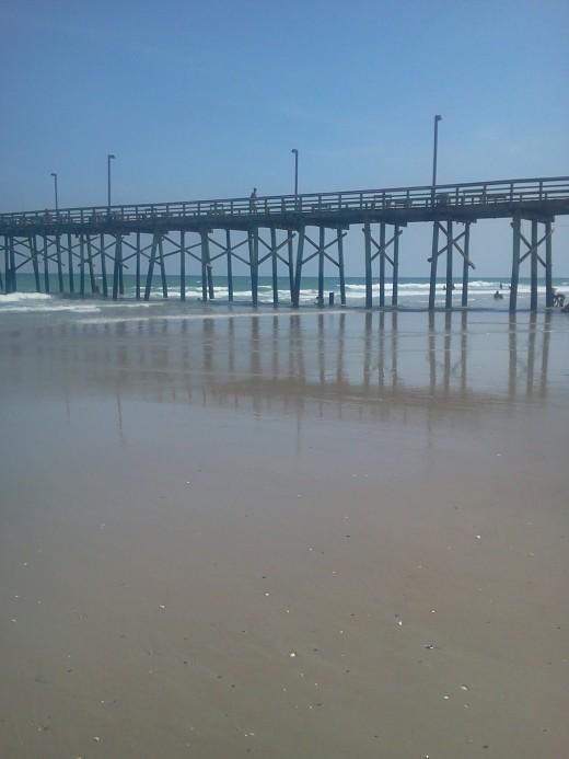 Top Sail Beach Pier North Carolina