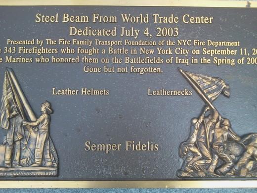 9/11 Memorial Jacksonville North Carolina