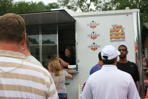 The Hot Dog Dude Truck