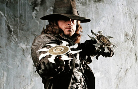 Van Helsing portrayed by Hugh Jackman