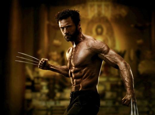 Wolverine/Logan portrayed by Hugh Jackman
