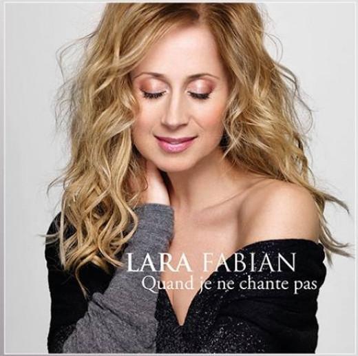 """Cover of the new single """"Quand Je Ne Chante Pas""""."""