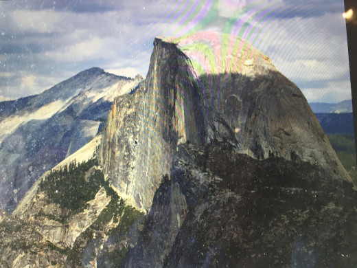 Half-Dome Mountain in Yosemite National Park