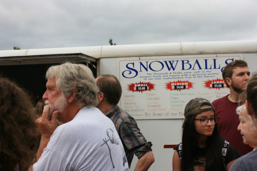 Snowball Palace Truck