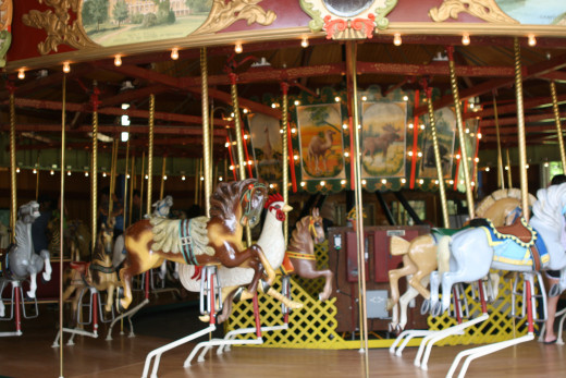 The Carousel in the Park