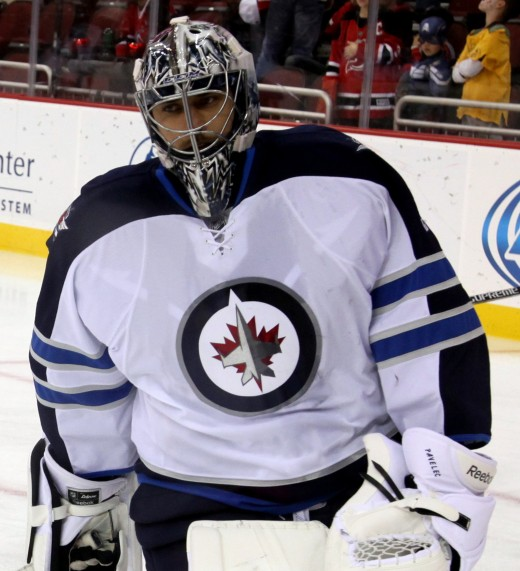 Ondrej Pavalec and the Winnipeg Jets fought hard to make this year's playoffs, but lost in a first round sweep by the Anaheim Ducks.