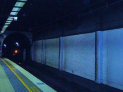 Underground at Central Station.