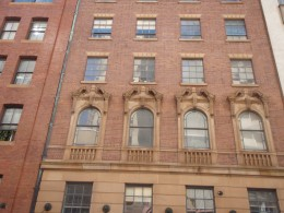 Another example of 19th or early 20th Century architecture to be found in Sydney.