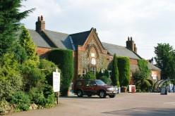 Wymondham station, forecourt