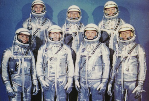 THE FIRST AMERICAN ASTRONAUTS