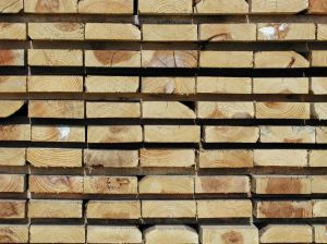 Lumber at the lumber yard