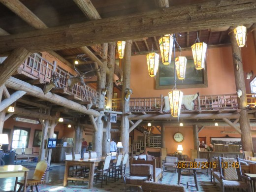 LAKE McDONALD LODGE INTERIOR