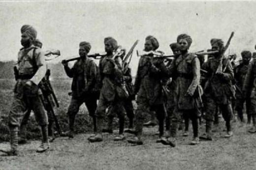 Indian troops World war I