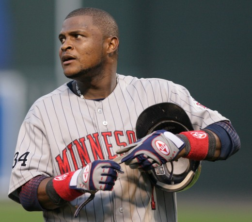 Luis Castillo as a Minnesota Twin. Castillo compiled 1273 hits as a Marlin