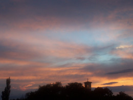 Majesty beheld in the evening's canvas...its brush...