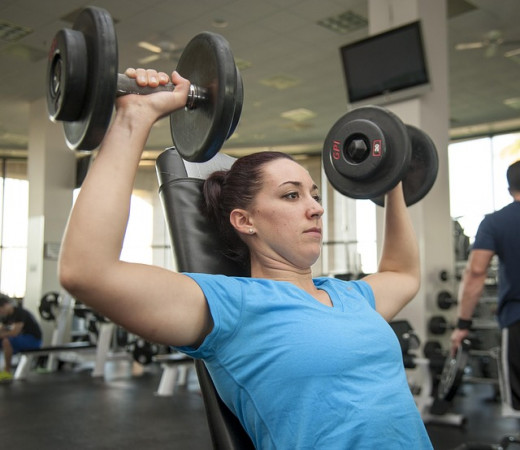 Weight training is a very important key to losing weight
