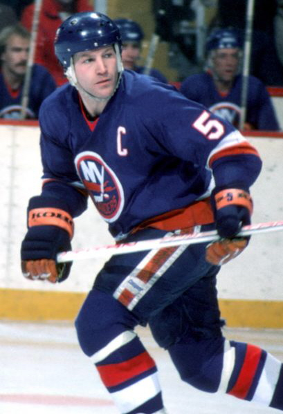 """New York Rangers fans have chanted """"Potvin Sucks"""" at their home games for years.  This was the result of a 1979 hit thrown by Potvin that resulted in a broken ankle for center Ulf Nilsson."""