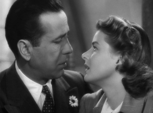 Humphrey Bogart And Ingrid Bergman In 'Casablanca'