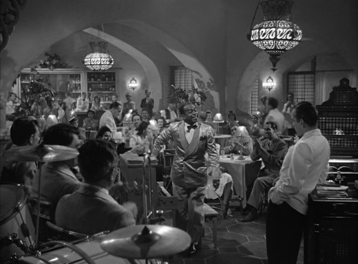 A Scene From 'Casablanca'