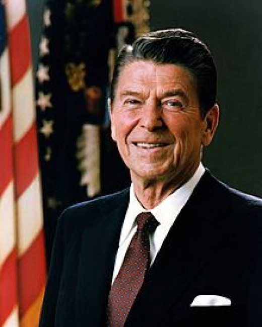 President Ronald Wilson Reagan (1911-2004)