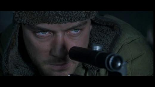 Jude Law as Vasily Zaytsev