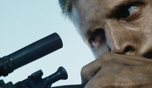 Barry Pepper As Private Daniel Jackson, A Sniper