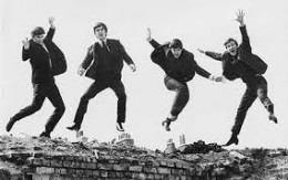 perhaps the iconic photo of the Sixties, the Beatles