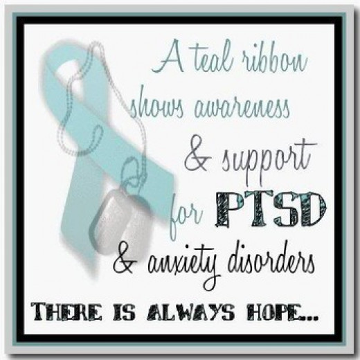 """It doesn't take much to let someone know you are there. Wear the """"teal""""."""