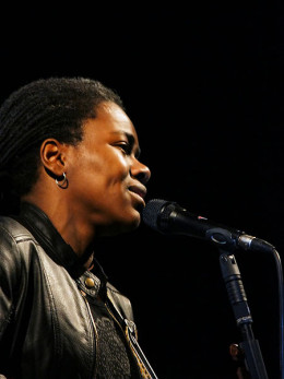 Tracy Chapman got a publishing deal in 1986 and a record deal with Elektra Records in 1987 after a fellow student at Tufts University introduced her to his father, who ran a music publishing company.