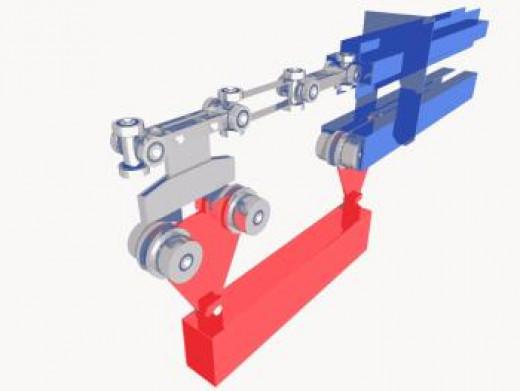 Power&Free overhead conveyor system