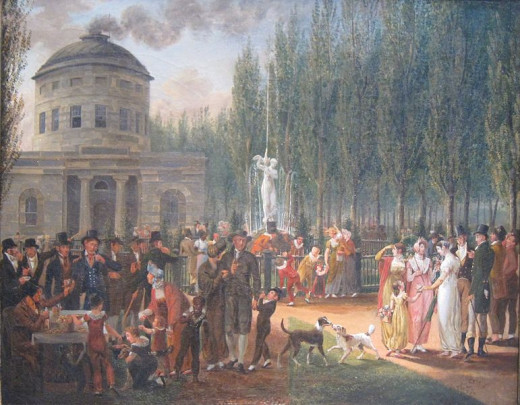 Fourth of July in (Philadelphia's) Center Square by John Lewis Krimmd (by 1812)
