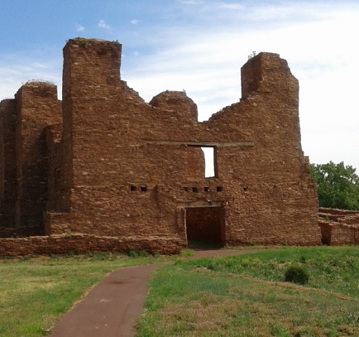 Caveman Zug Zug : Salinas pueblo missions national monument reflections on