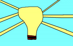 Bright ideas. The light bulb was invented in the USA.