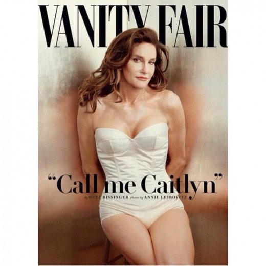 Caitlyn Jenner, formerly known as Bruce Jenner.