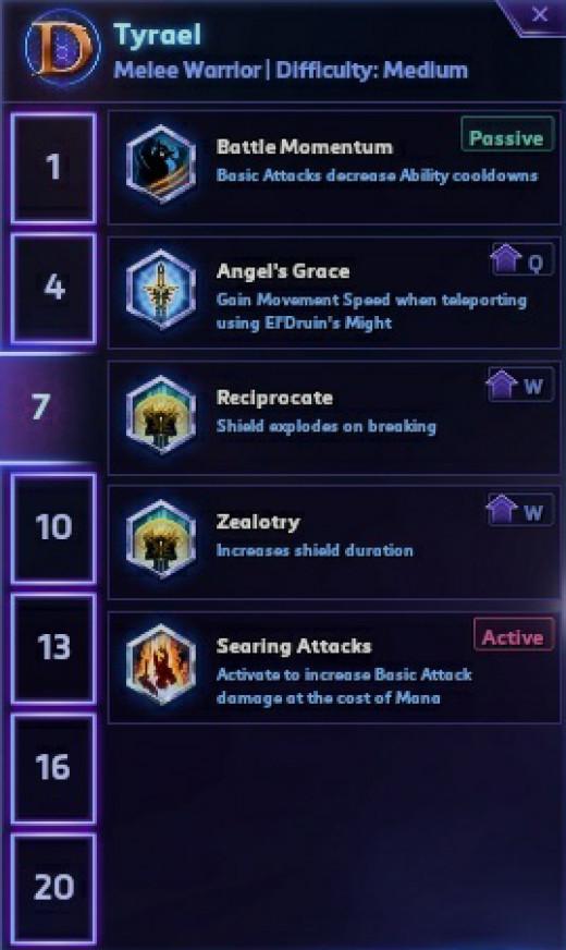 Tier 3 Talents