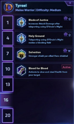 Tier 6 Talents