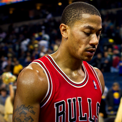 It was good to see Derrick Rose on the court again, as long as he wasn't bricking threes.