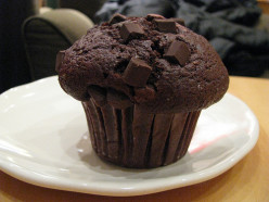 The most delicious chocolate muffins